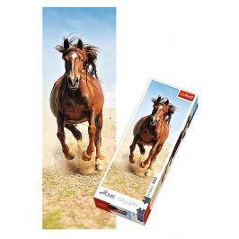 TREFL Puzzle Cválající kůň 300 dílků 16x48cm v krabici 10x26,5x4,5cm