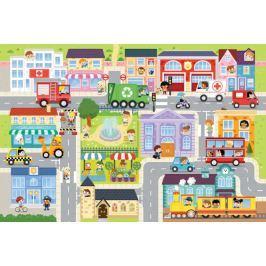 TREFL Puzzle V městečku MAXI 12 dílků