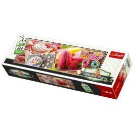 TREFL Panoramatické puzzle Kitchen Decor: Cukrovinky 600 dílků
