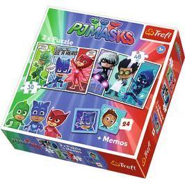 TREFL Puzzle Pyžamasky 30+48 dílků + pexeso