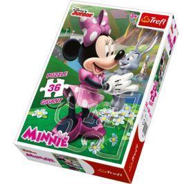 TREFL Dětské puzzle Gigant 36 dílků -  - Minnie