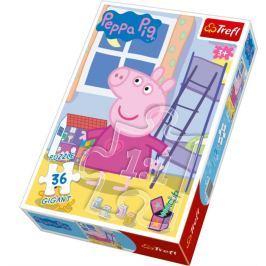 TREFL Dětské puzzle Gigant 36 dílků -  - Prasátko Peppa