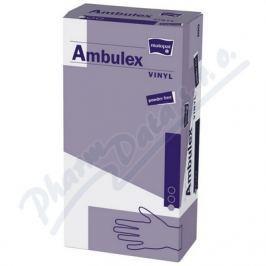 TORUNSKE ZAKLADY Ambulex Vinyl rukavice vinyl.nepudrované M 100ks