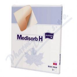 TORUNSKE ZAKLADY Medisorb H 10x10cm 5ks hydrokoloidní krytí steril.