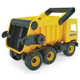 WADER Auto middle Truck sklápěč plast 38cm žlutý v krabici