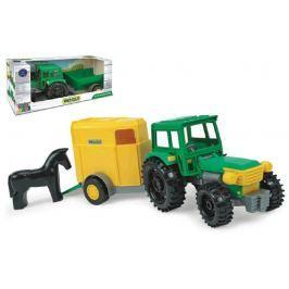 WADER Traktor s vlečkami plast 38cm asst 2 druhy
