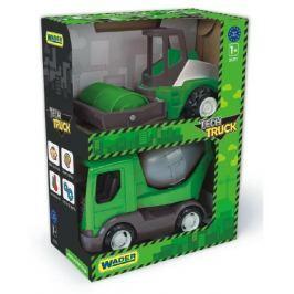 WADER Auto stavební Tech truck 2v1 plast 23cm asst v krabici 26x35x15cm
