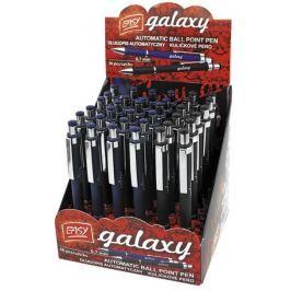 GALAXY - MIX kul.pero ,modrá a černá 36ks na displ.
