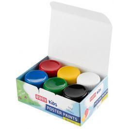 Temperové barvy v kelímku 6 barev