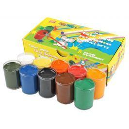 Temperové barvy v kelímku 8 barev