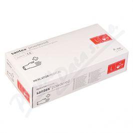 MERCATOR MEDICAL Rukavice latexové Santex powdered L 100ks