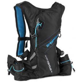 SPRINTER Cyklistický a běžecký batoh 5l modro/černý, voděodolný