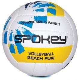 BEACH FUN Volejbalový míč modro-bílý č.5
