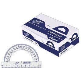 Úhloměr 10cm box 20 ks