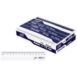 Pravítko 15cm box 50 ks
