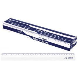 Pravítko 30cm box 25 ks