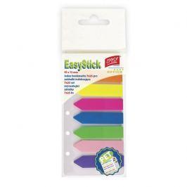 Zvýrazňující plastové záložky 45 x 12 , 7 barev á 25 ks