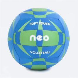 NEO SOFT neoprenový volejbalový  míč modro-zelený roz. 5