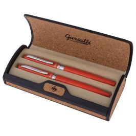 Guriatti ADRIANA Set plnicí a kuličkové pero oranžové