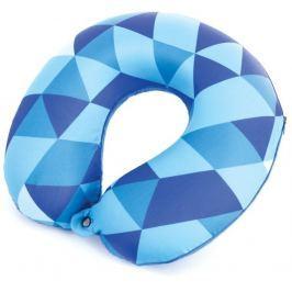 AMBIENT Cestovní polštářek paměťová pěna modrý