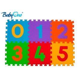 Baby ONO Pěnové puzzle  - Čísla - 6ks