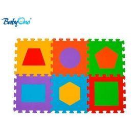 Baby ONO Pěnové puzzle  - Tvary - 6 ks