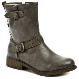 Mustang 1264-602-20 šedé dámské nadměrné zimní boty, 42
