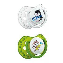 Canpol Babies - LOVI Lovi dudlík HOT & COLD, 6 - 18m, zelená/bílá