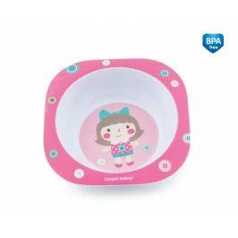Canpol Babies Melaminová miska Toys 230 ml - růžová