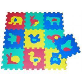 SUN TA TOYS Pěnové puzzle Zvířata S4 (30x30), 4 barvy