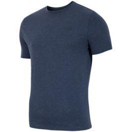 Pánské tričko 4F TSM002 Dark Blue, XXL
