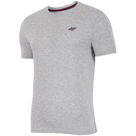 Pánské tričko 4F TSM002 Grey Melange, XXL