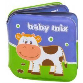 BABY MIX Měkká pískací knížka do vody - Farma