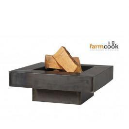 FARMCOOK Ohniště  Plaza 80 cm - lakované