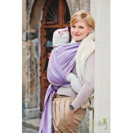 LITTLE FROG Tkaný šátek na nošení dětí - Sugilit - 2. jakost, XS