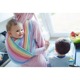 LITTLE FROG Tkaný šátek na nošení dětí - Spectrolite, L