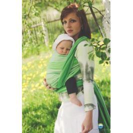 LITTLE FROG Tkaný šátek na nošení dětí -  TSAVORITE, XL