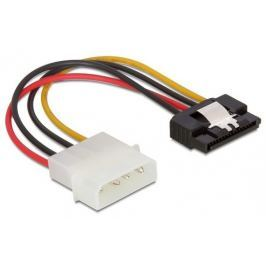 DeLock Cable Power SATA HDD > Molex 4 pin male with metal clip straight 15cm