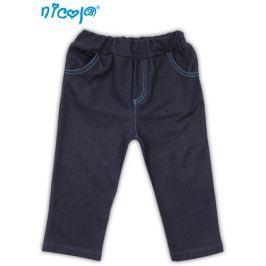 Nicol Tepláčky, kalhoty TUČŇÁK - jeansová, 56 (1-2m)