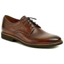 Conhpol 6158-1076 hnědá pánská společenská obuv, 42