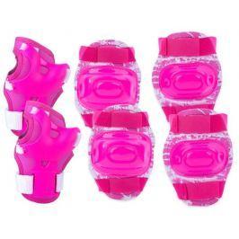 AEGIS - 3-dílná sada dětských chráničů růžové velikost M
