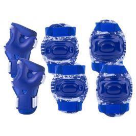 AEGIS - 3-dílná sada dětských chráničů modré velikost L