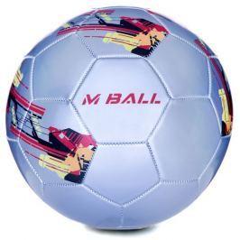 MBALL fotbalový míč vel.5 všechny barvy v detailu, stříbrný