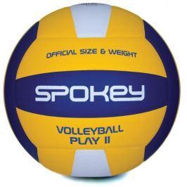 PLAY II Volejbalový míč žluto-modrý vel.5