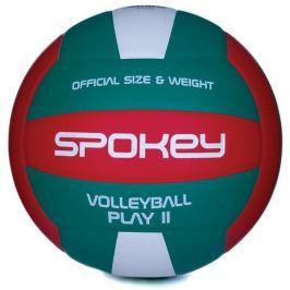 PLAY II Volejbalový míč červeno-zelený vel.5
