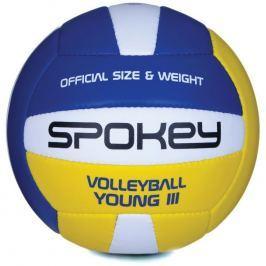 YOUNG III Volejbalový míč modro-žlutý vel.4