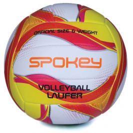 LAUFER Volejbalový míč bílo-červeno-žlutý rozm.5