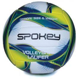 LAUFER Volejbalový míč bílo-modro-žlutý rozm.5