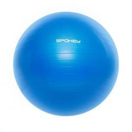 FITBALL III - Gymnastický míč 55 cm včetně pumpičky modrý