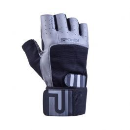 GUANTO II fitness rukavice vel.L černo-šedé